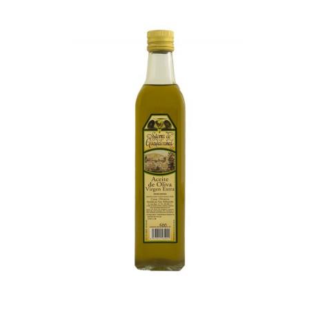 Botella baja cristal 500 ml, Aceite de Oliva Virgen Extra