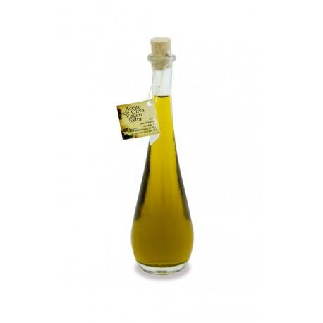 Botella de Cristal con forma de Lágrima 100cc