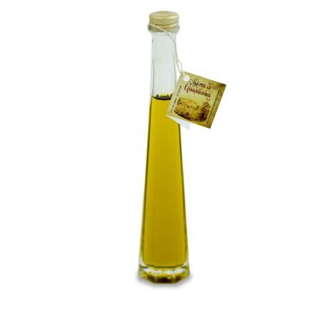Botella de Cristal con Base Octogonal 40cc