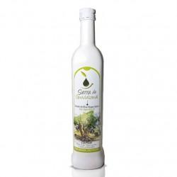 6 Botellas de cristal de 500 ml. de Aceite de Oliva Virgen Extra Coupage. Sierra de Guadalcanal Selección Alta