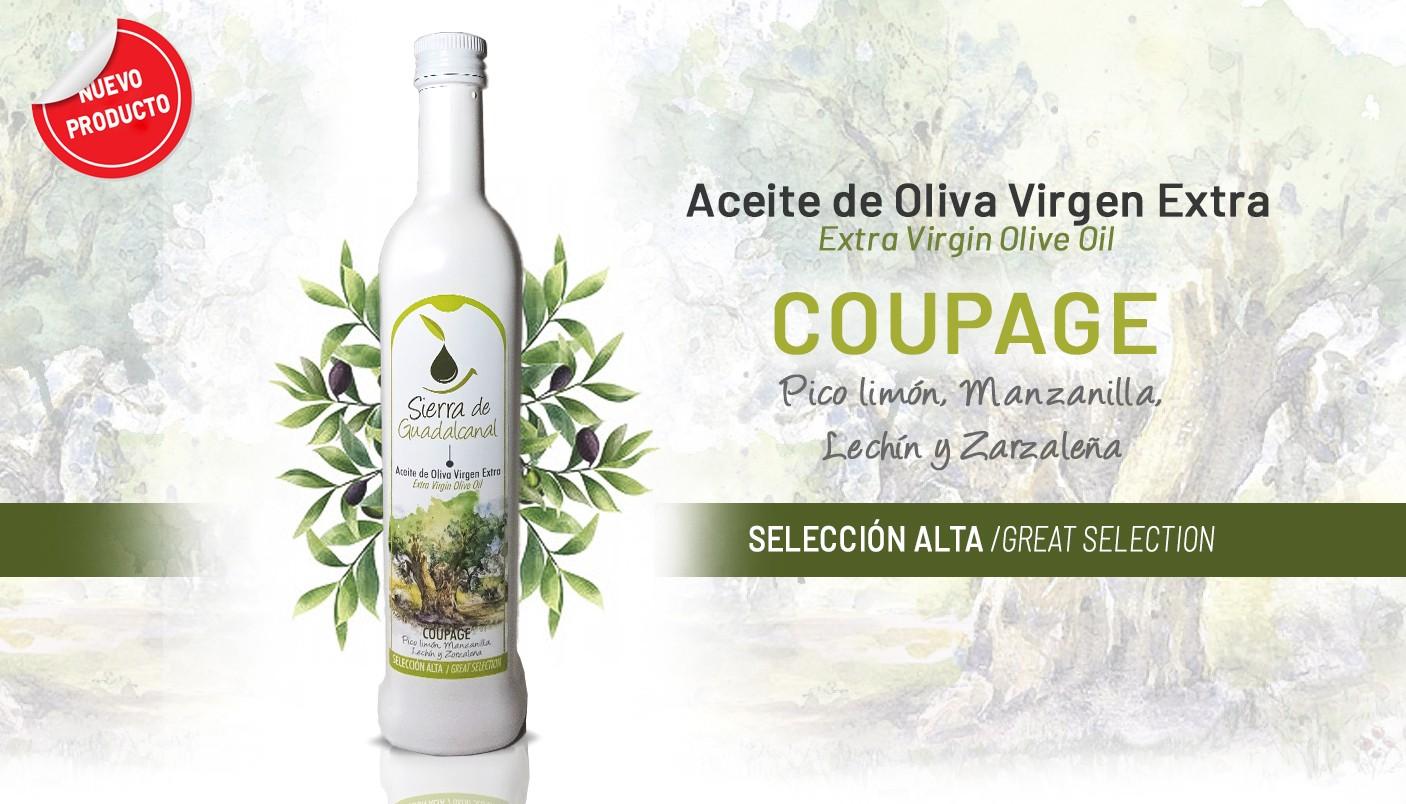 Aceite de Oliva Virgen Extra Coupage. Sierra de Guadalcanal Selección Alta