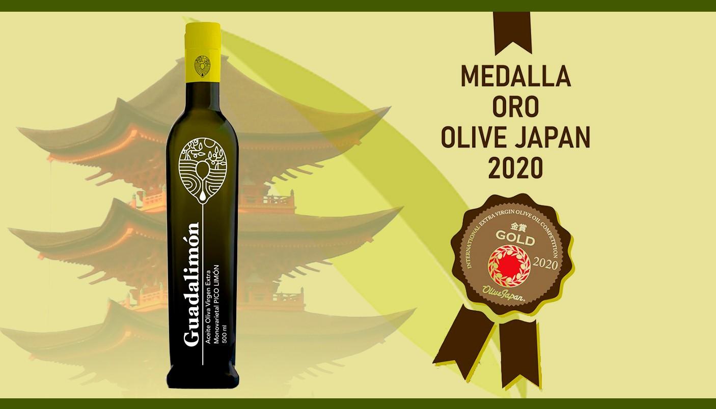 GUADALIMON - Medalla de Oro OLIVE JAPAN 2020